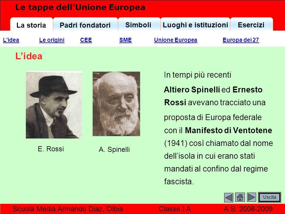La storiaPadri fondatori SimboliLuoghi e istituzioniEsercizi Scuola Media Armando Diaz, Olbia Classe I A A.S.