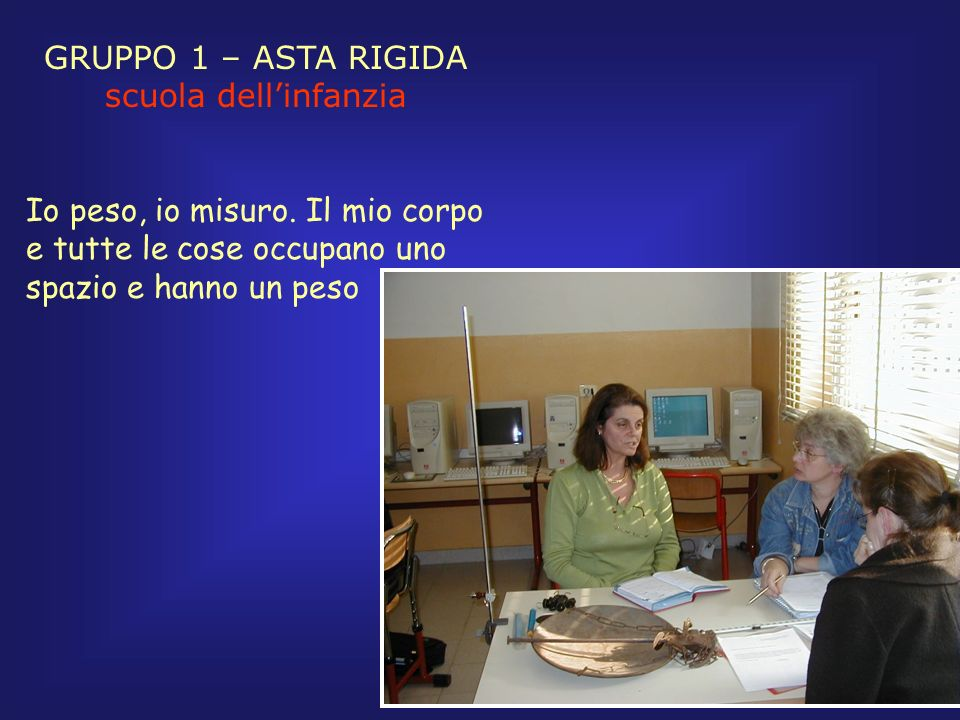 GRUPPO 1 – ASTA RIGIDA scuola sec.