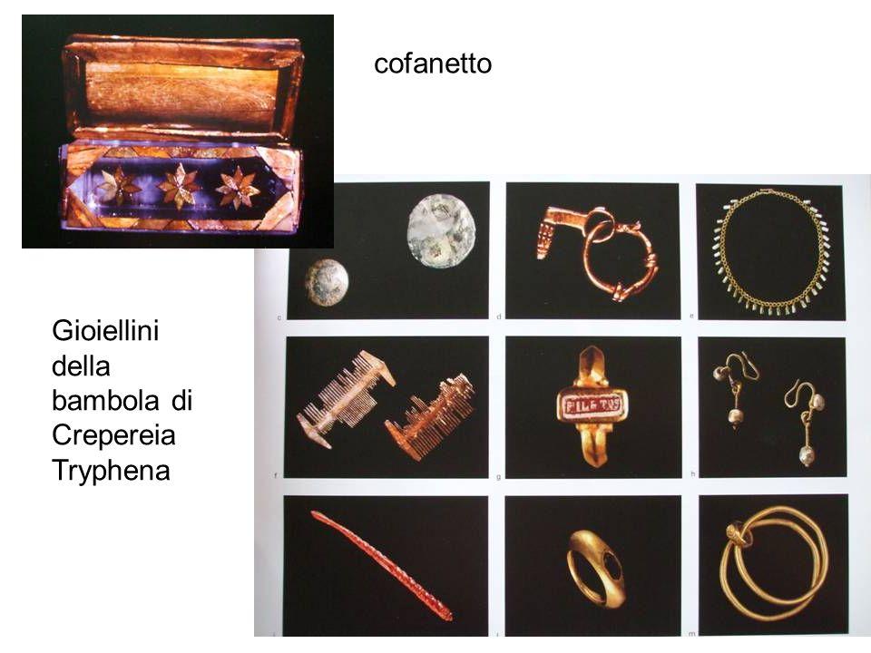 cofanetto Gioiellini della bambola di Crepereia Tryphena