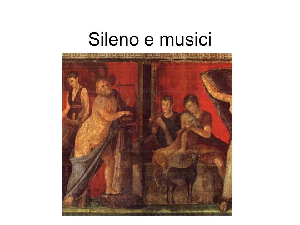 Sileno e musici
