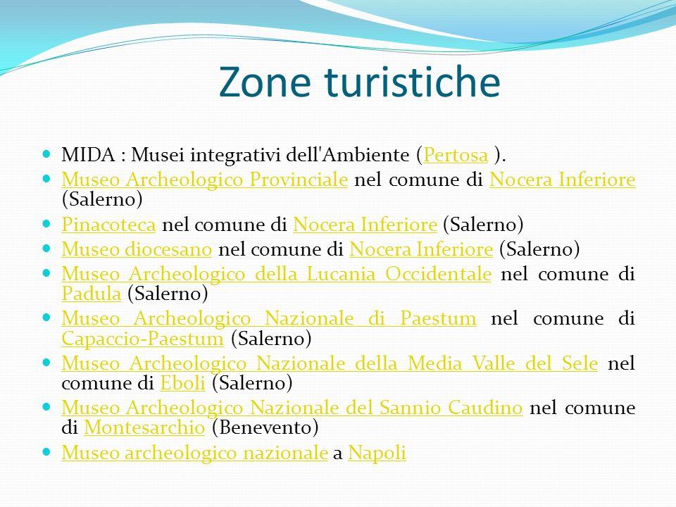 Zone turistiche MIDA : Musei integrativi dell'Ambiente (Pertosa ).Pertosa Museo Archeologico Provinciale nel comune di Nocera Inferiore (Salerno) Muse
