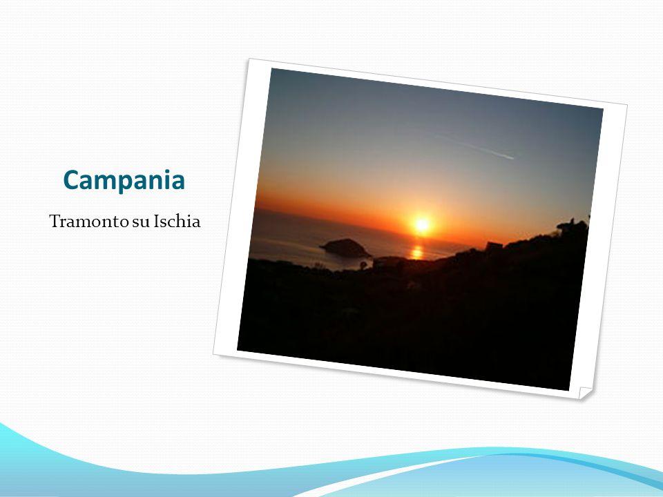 Campania Tramonto su Ischia