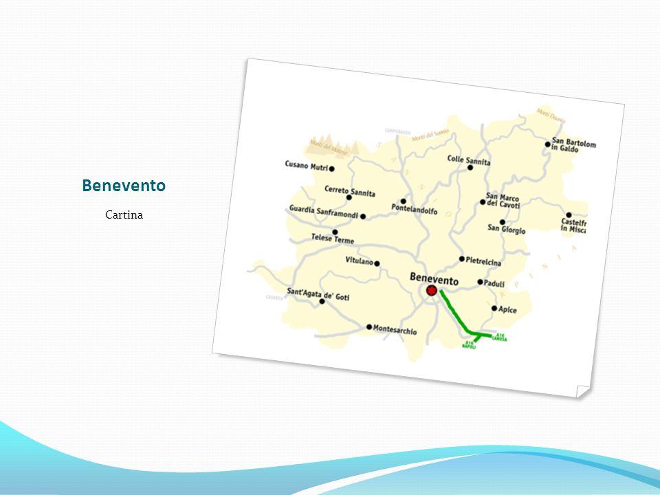 Benevento Cartina