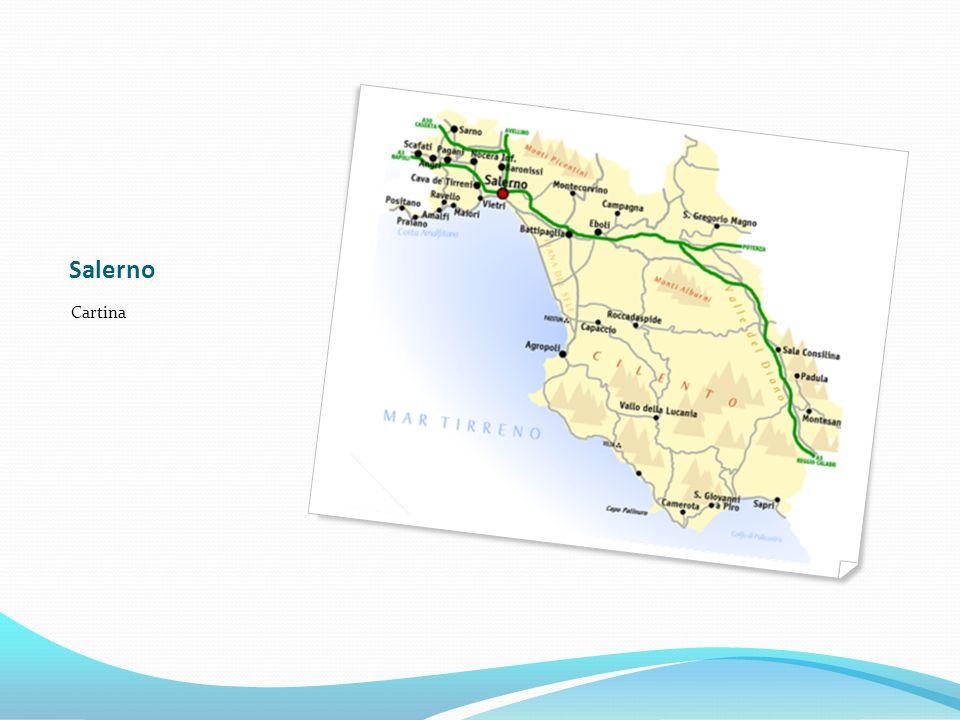 Salerno Cartina