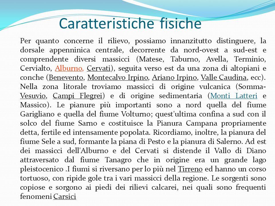 Caratteristiche fisiche LArcipelogo Campano è composto da 3 isole principali: Ischia, Capri e Procida, famose in tutto il mondo per le loro bellezze naturali