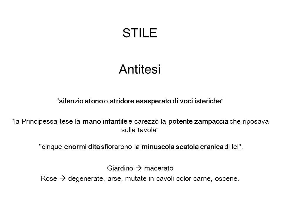STILE Antitesi