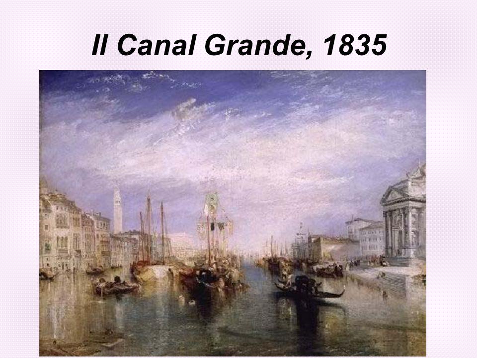 Il Canal Grande, 1835