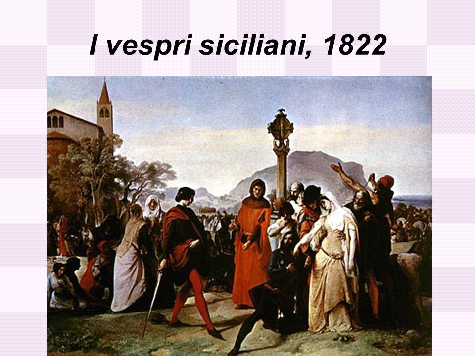 I vespri siciliani, 1822