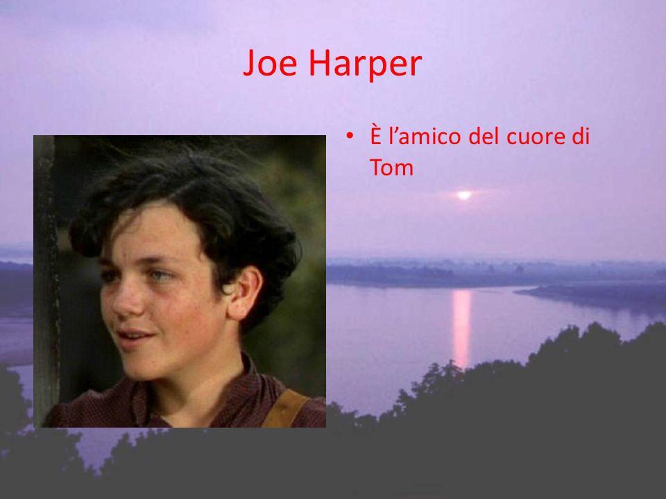 Joe Harper È lamico del cuore di Tom