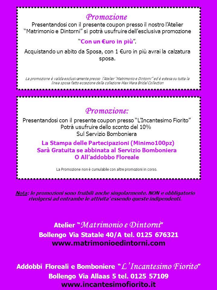 Atelier Matrimonio e Dintorni Bollengo Via Statale 40/A tel.