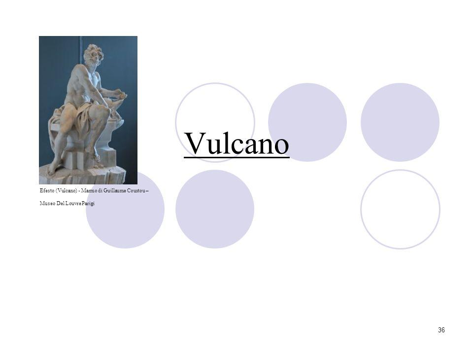36 Vulcano Efesto (Vulcano) - Marmo di Guillaume Coustou – Museo Del Louvre Parigi