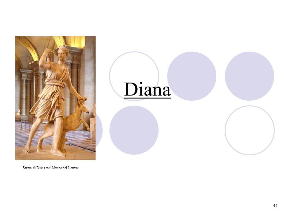 41 Diana Statua di Diana nel Museo del Louvre