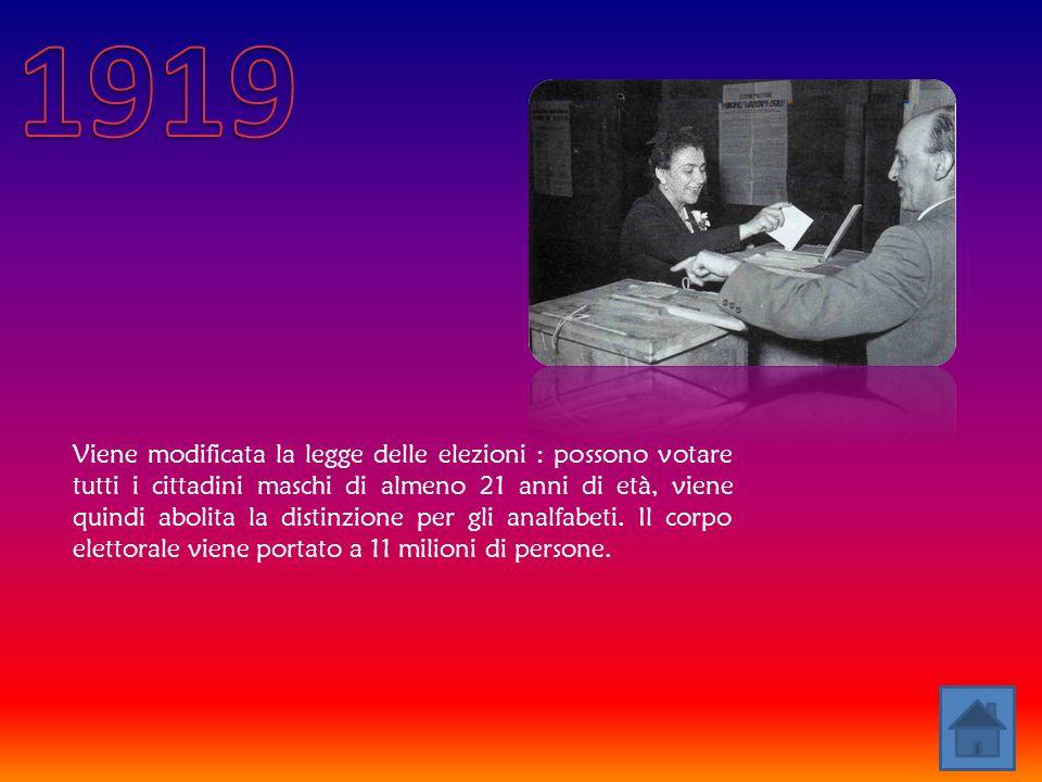 Biennio Rosso (1919-1920) è la locuzione con cui alcuni storici indicano il periodo della storia italiana immediatamente successivo alla prima guerra mondiale, in cui si verificarono soprattutto nel centro- nord della penisola mobilitazioni contadine, tumulti, manifestazioni operaie, occupazioni di terreni e fabbriche con, in alcuni casi, tentativi di autogestione.