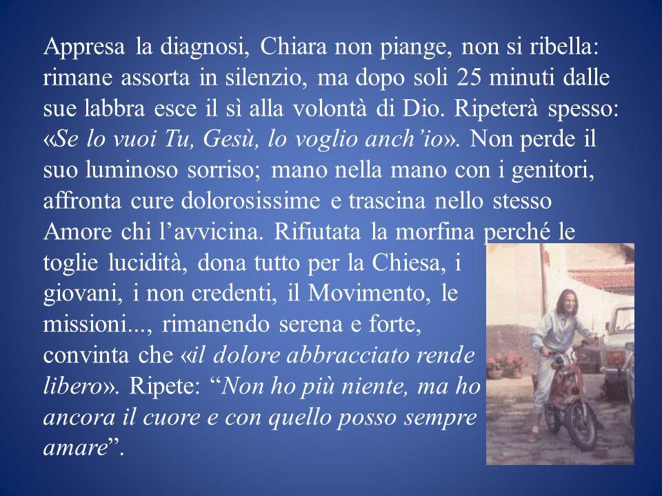 La cameretta, in ospedale a Torino e a casa, è luogo di incontro, di apostolato, di unità: è la sua chiesa.
