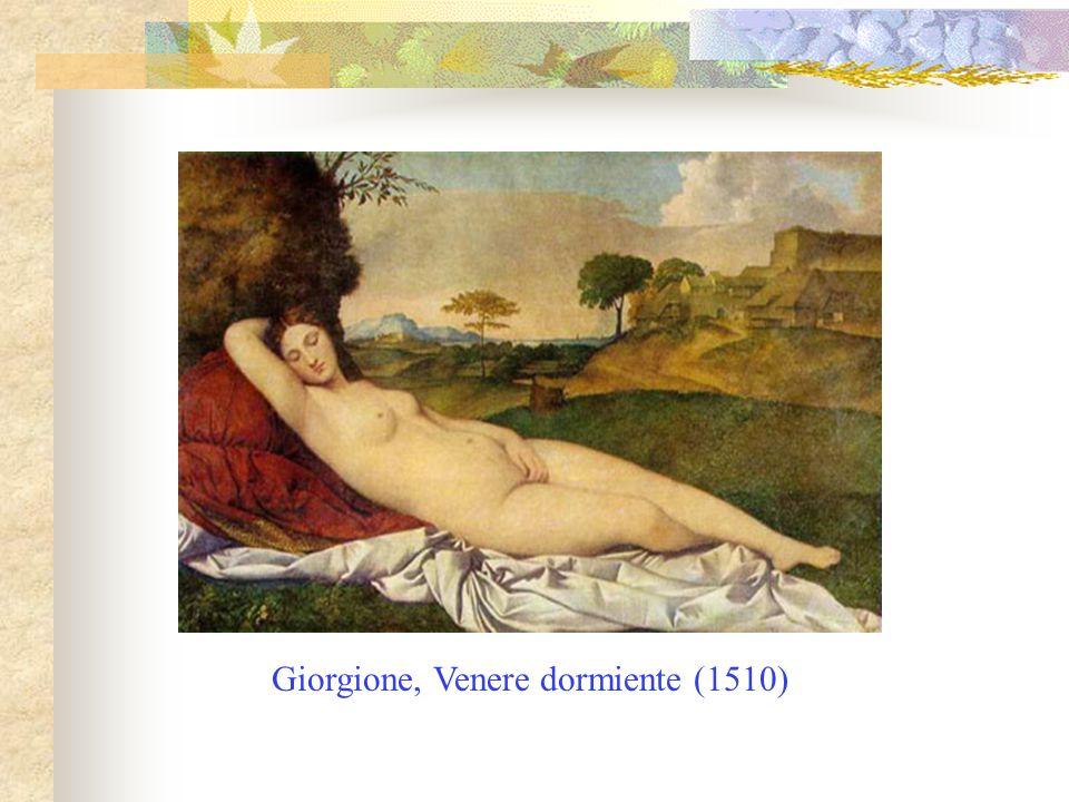 Giorgione, Venere dormiente (1510)