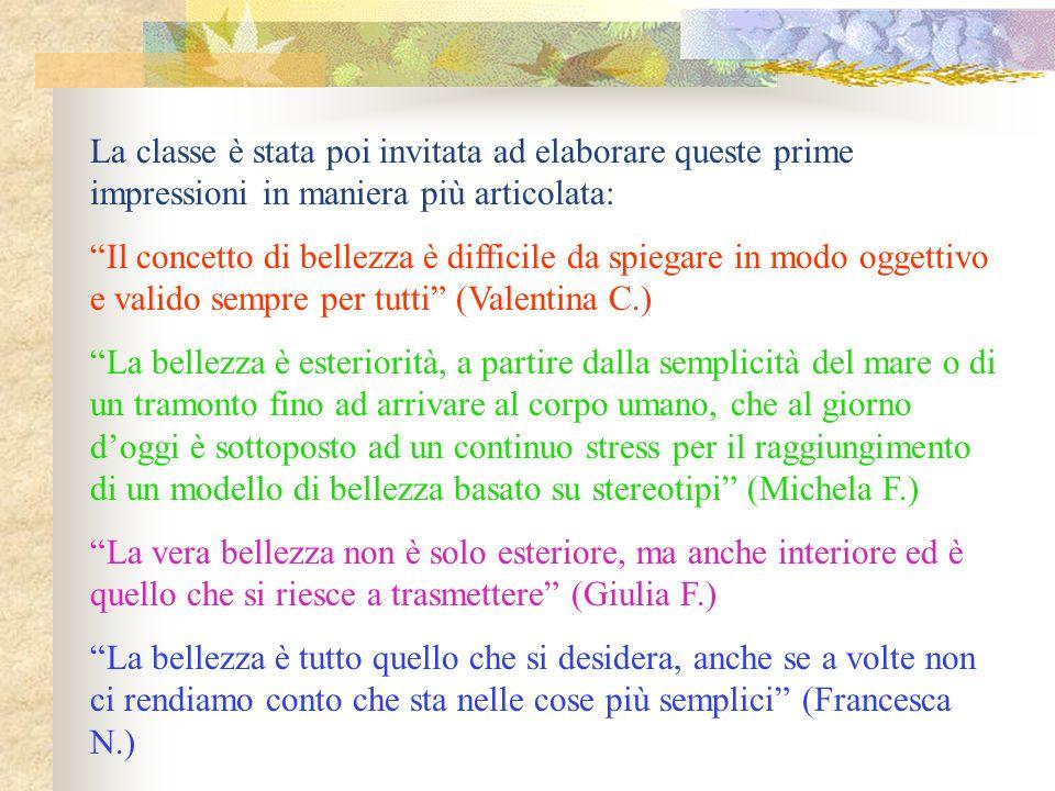 LE DONNE A ROMA: LE MATRONE La classe, divisa in gruppi, esamina una serie di testi.