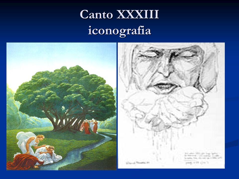 Canto XXXIII iconografia
