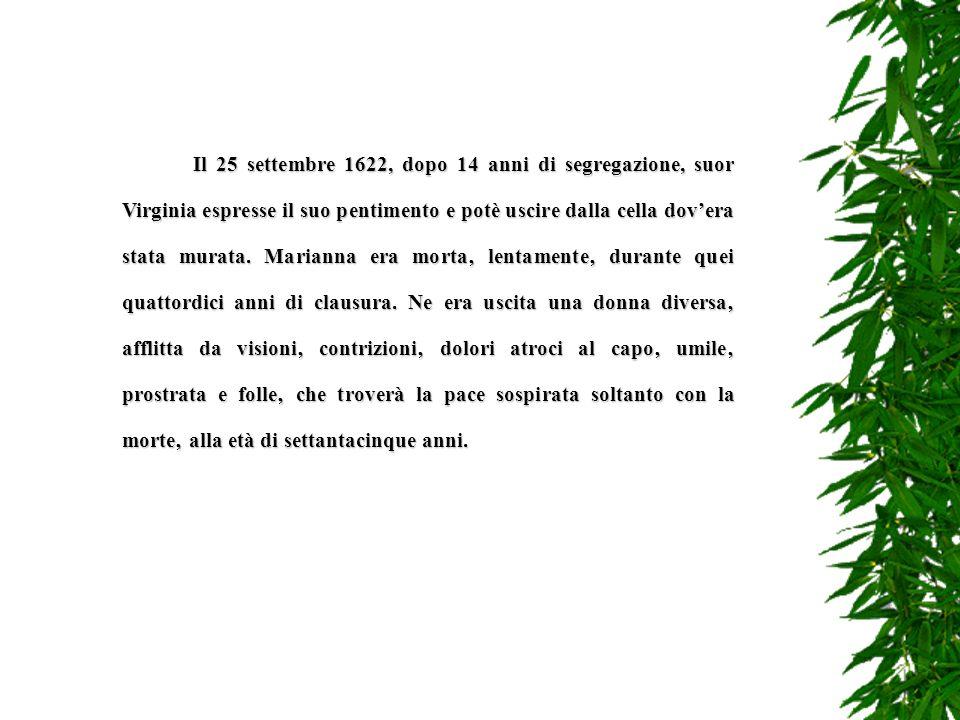 Dal 31 maggio al 23 giugno il Lancillotti interroga al Bocchetto suor Virginia Paolo Arrisone (per la seconda volta e con la tortura della corda) ed i