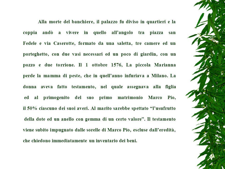 Dal 31 maggio al 23 giugno il Lancillotti interroga al Bocchetto suor Virginia Paolo Arrisone (per la seconda volta e con la tortura della corda) ed il portinaio con la moglie.