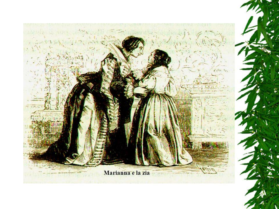 Alla fine, derubata dal padre e dai fratellastri Marianna andò Alla fine, derubata dal padre e dai fratellastri Marianna andò a vivere con la zia pate