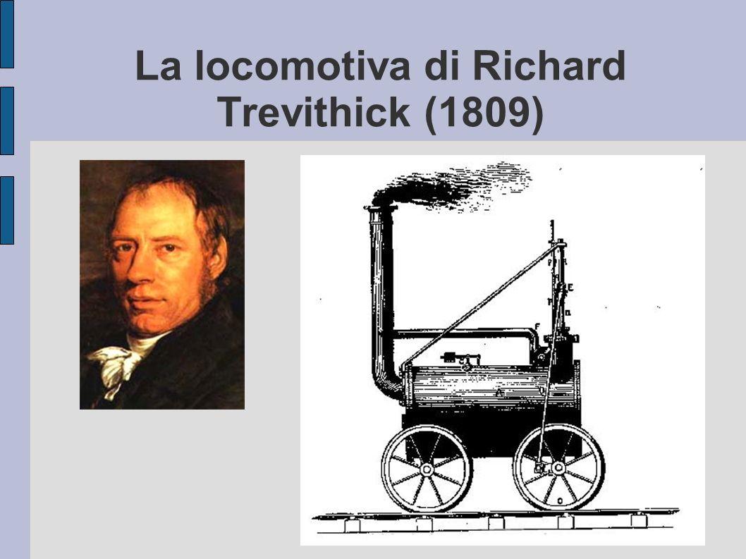 La locomotiva di Richard Trevithick (1809)