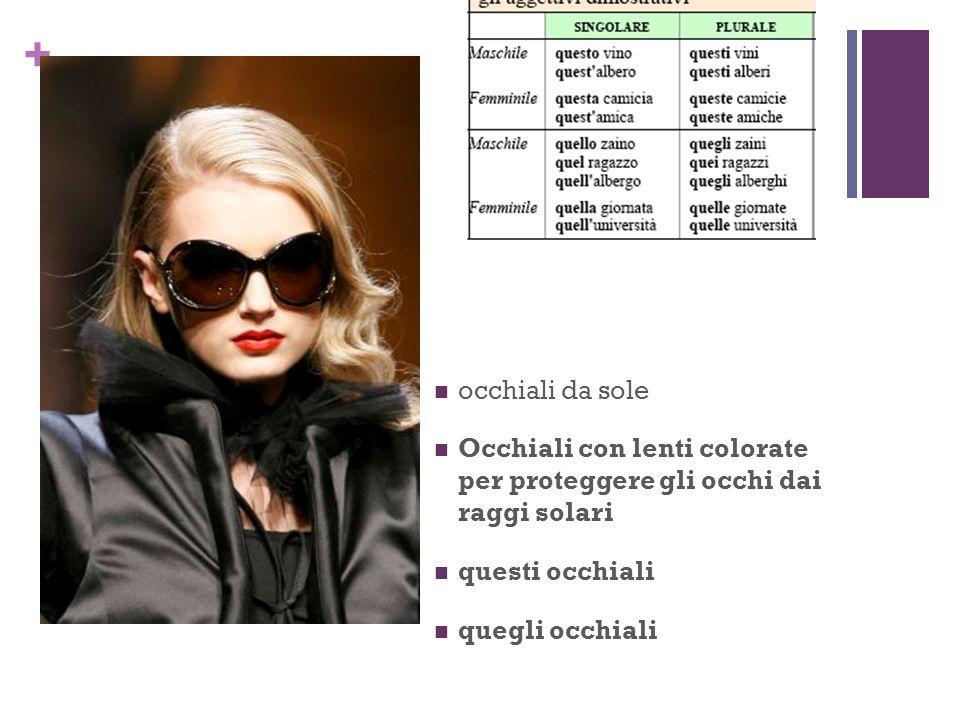 + occhiali da sole Occhiali con lenti colorate per proteggere gli occhi dai raggi solari questi occhiali quegli occhiali