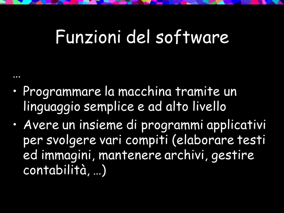 Software o hardware.