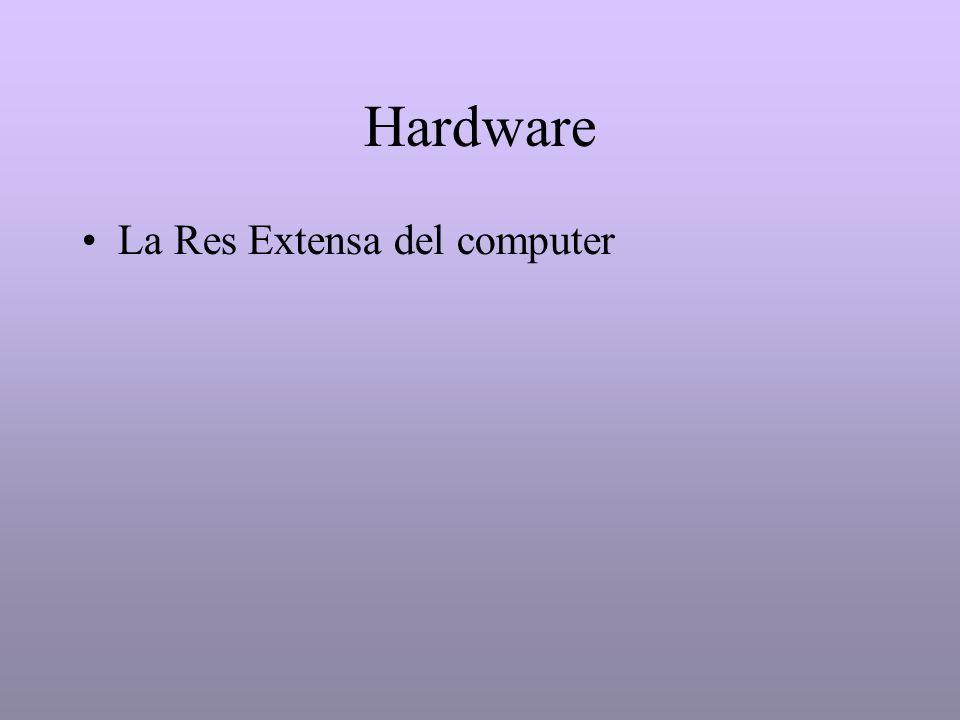 Hardware La Res Extensa del computer