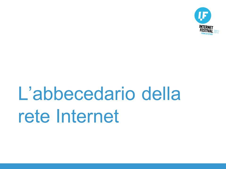 Labbecedario della rete Internet