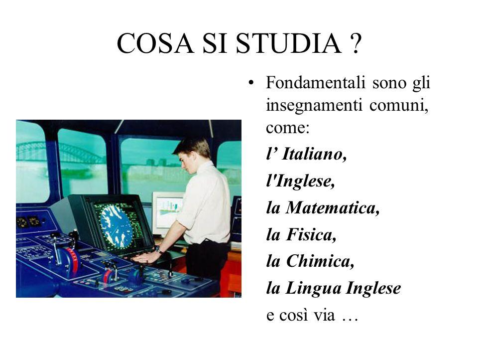 NellIstituto Nautico di Crotone sono presenti i laboratori..