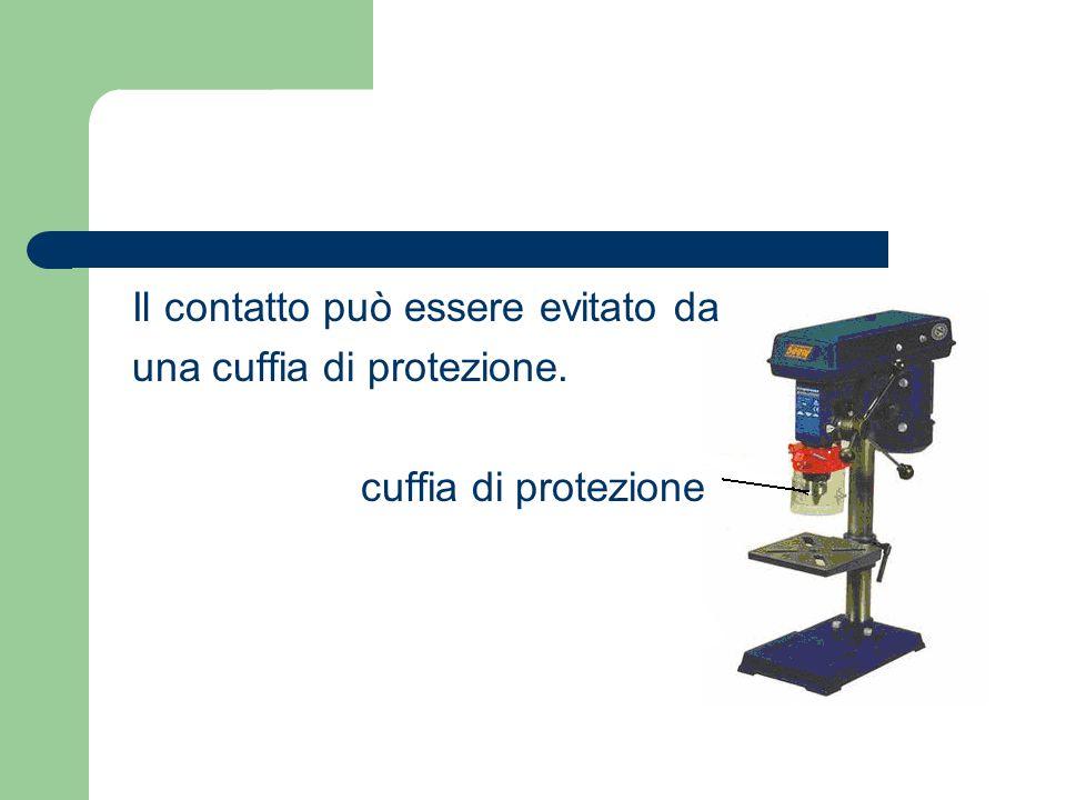 Il contatto può essere evitato da una cuffia di protezione. cuffia di protezione