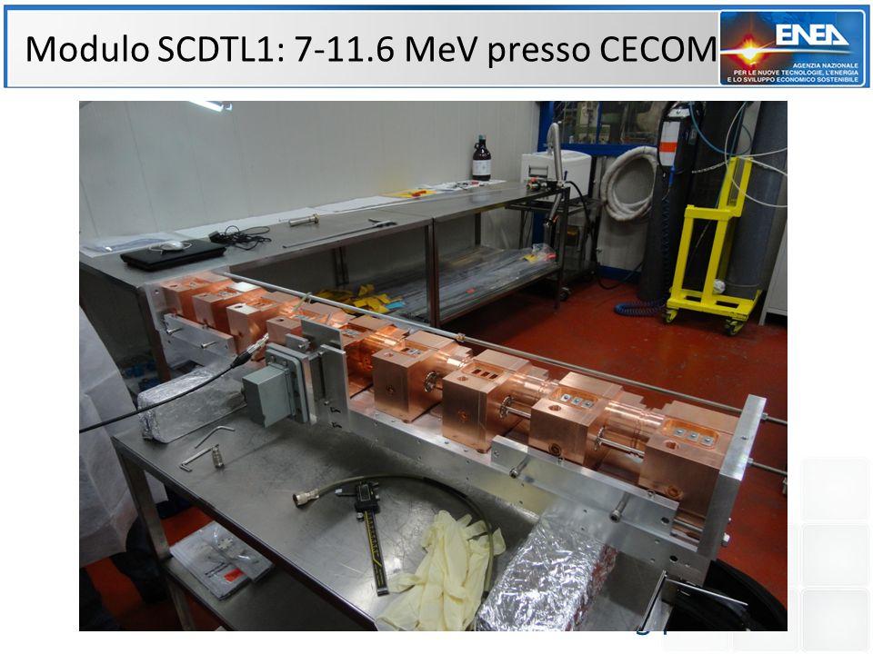 34 Modulo SCDTL1: 7-11.6 MeV presso CECOM