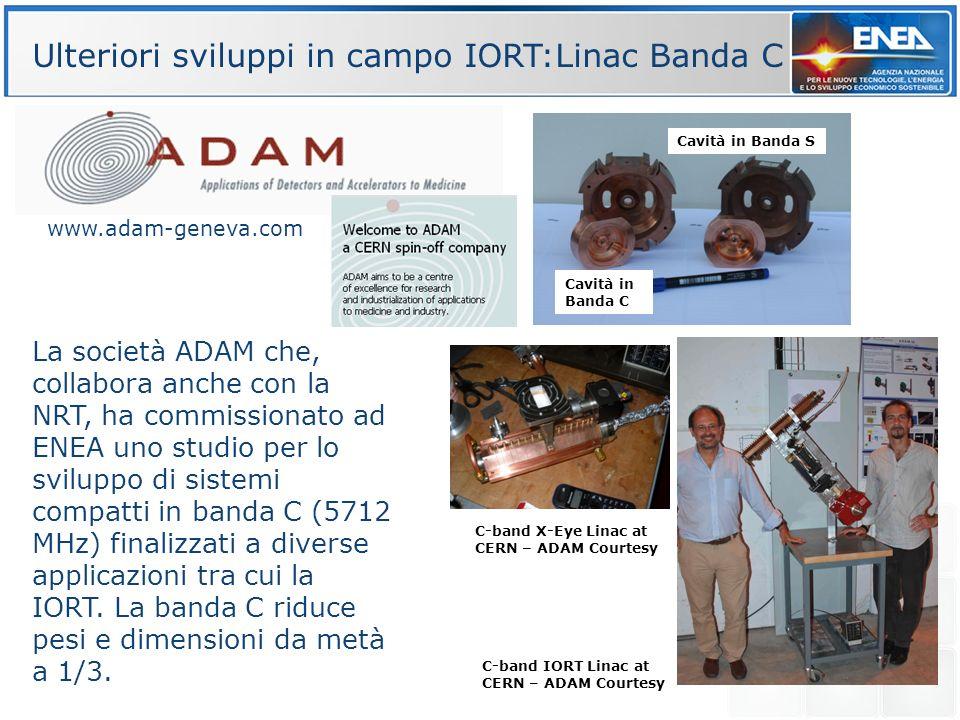 La società ADAM che, collabora anche con la NRT, ha commissionato ad ENEA uno studio per lo sviluppo di sistemi compatti in banda C (5712 MHz) finaliz