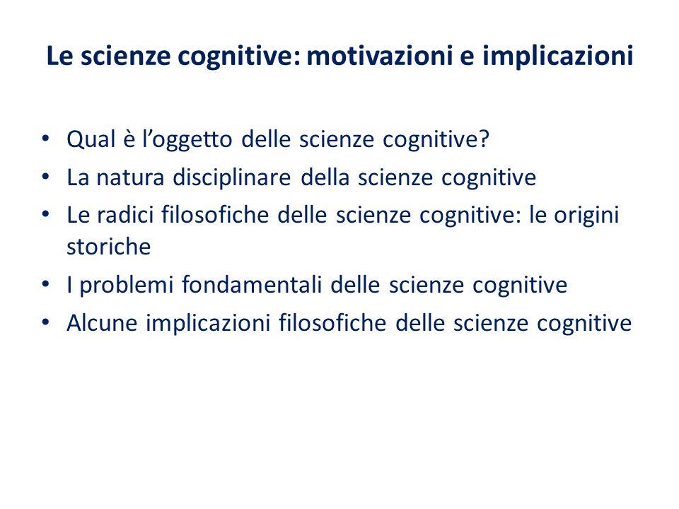 La psicologia come la vede il behaviorista è una scienza naturale puramente oggettiva.