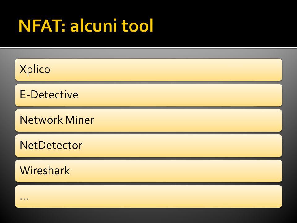 XplicoE-DetectiveNetwork MinerNetDetectorWireshark…