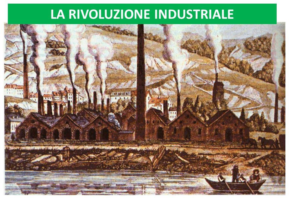 LA RIVOLUZIONE* INDUSTRIALE Dalla seconda metà del Settecento (dal 1769-1776 al 1870) In Inghilterra e successivamente in altri paesi Passaggio dal sistema produttivo preindustriale al sistema industriale *Rivoluzione: trasformazione radicale Quando.