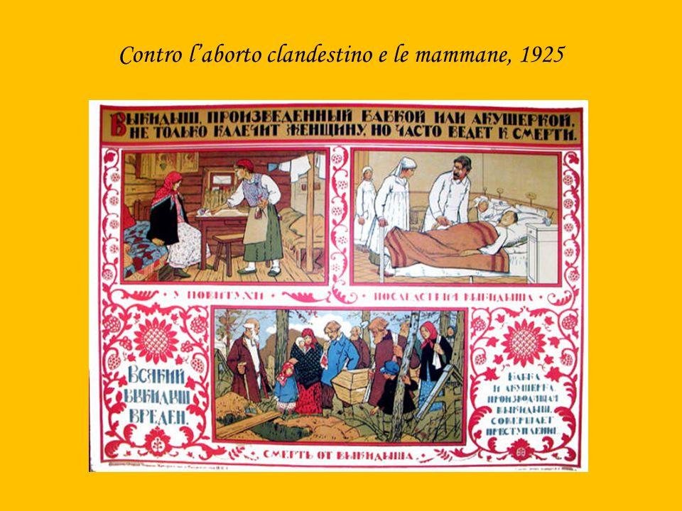 Contro laborto clandestino e le mammane, 1925
