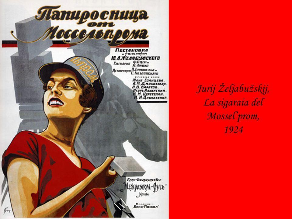 Jurij Željabužskij, La sigaraia del Mosselprom, 1924