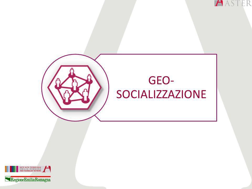 GEO- SOCIALIZZAZIONE