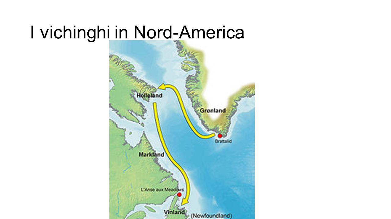I vichinghi in Nord-America