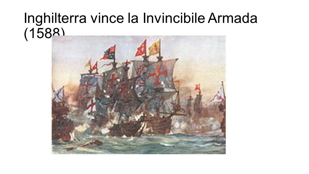 Inghilterra vince la Invincibile Armada (1588)