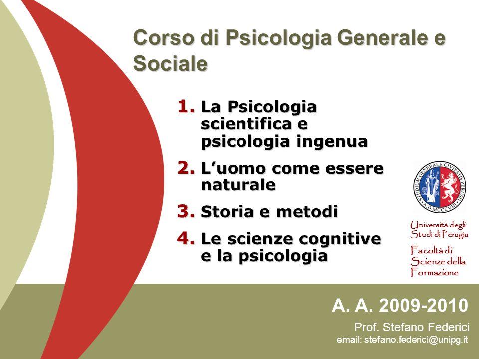 Prof.Stefano Federici email: stefano.federici@unipg.it A.