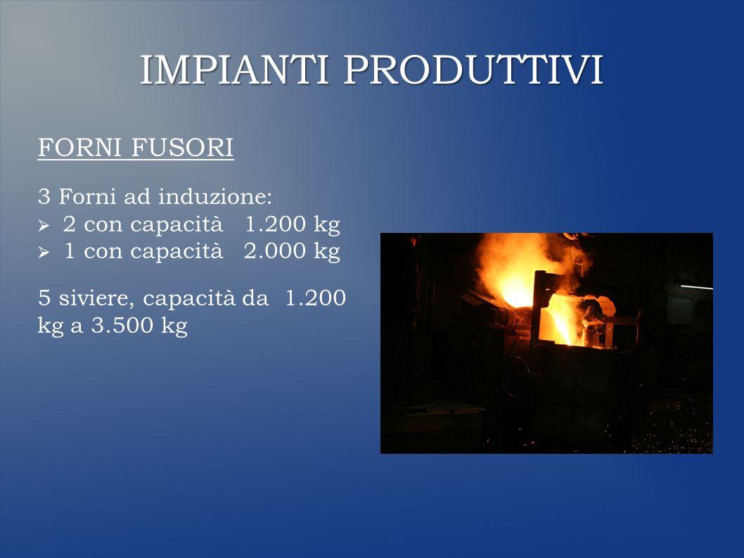 IMPIANTI DI TRATTAMENTO TERMICO N° 6 t.Forni elettrici - Temp.