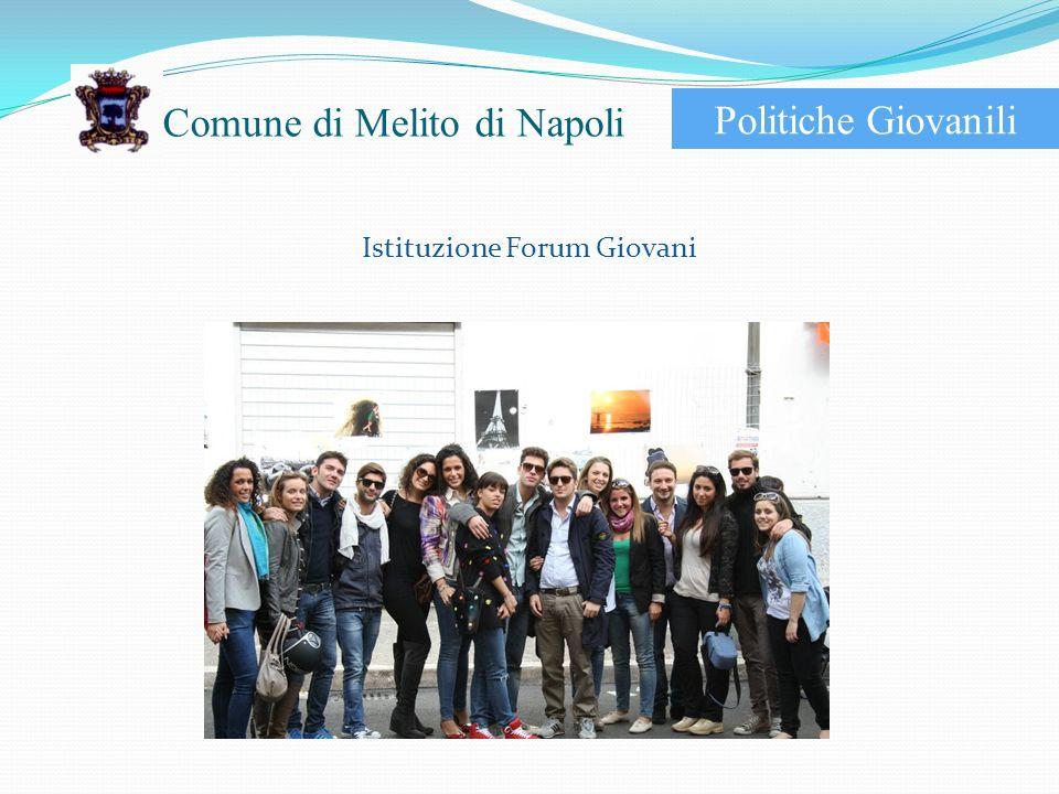 Istituzione Forum Giovani Politiche Giovanili