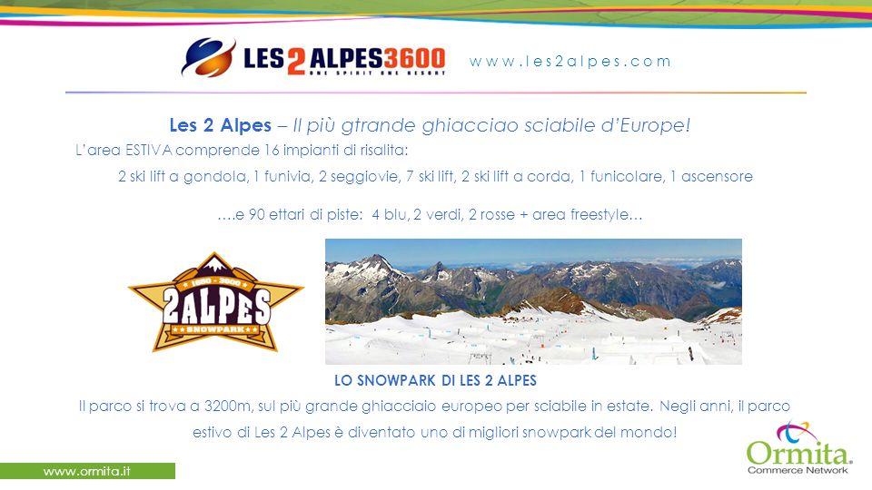 www.ormita.it Les 2 Alpes – Il più gtrande ghiacciao sciabile dEurope.