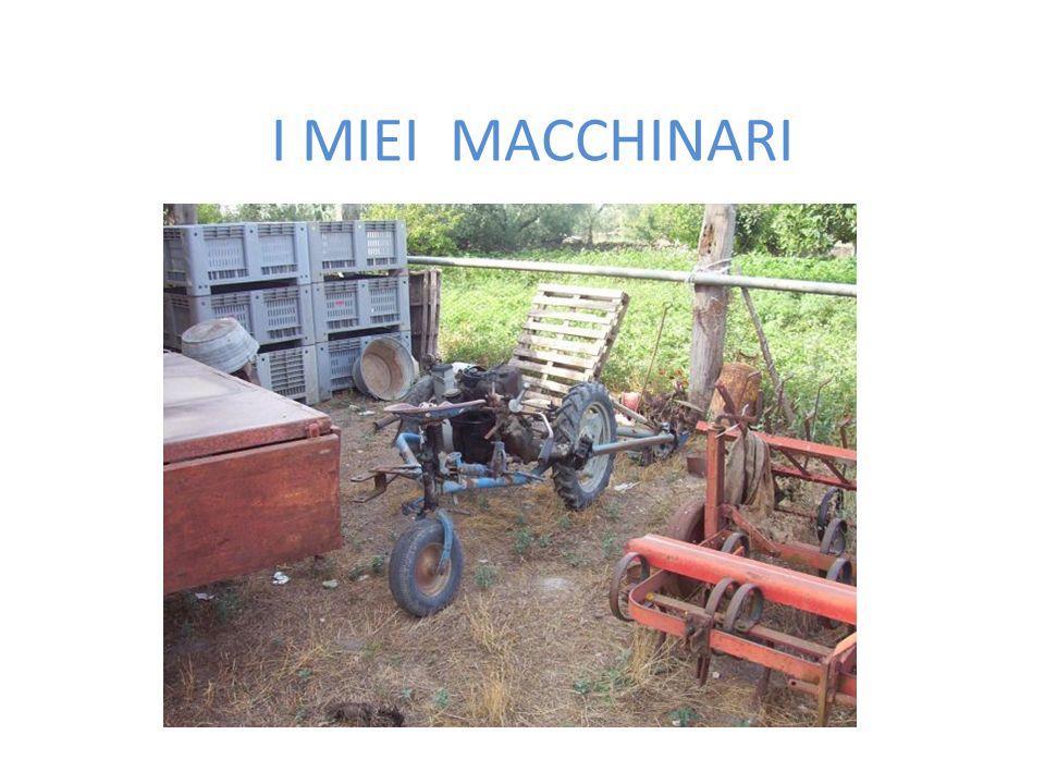 I MIEI MACCHINARI