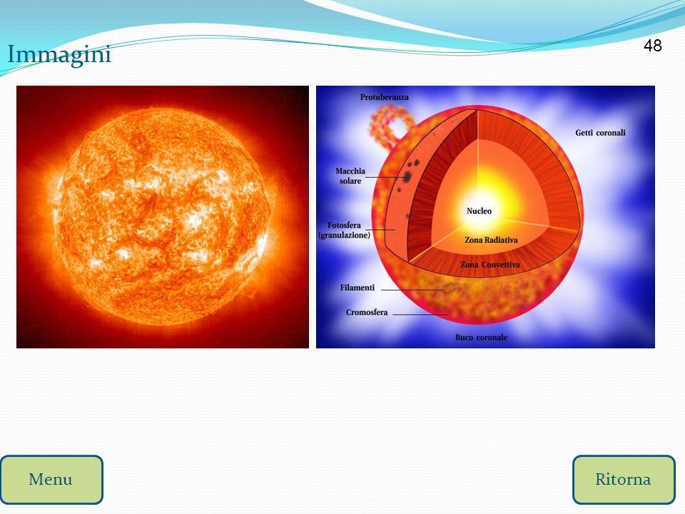 Il Sole Il Sole è una stella gialla di media grandezza, con un diametro che è 100 volte quello della terra ed una massa che è oltre 300 000 volte quel