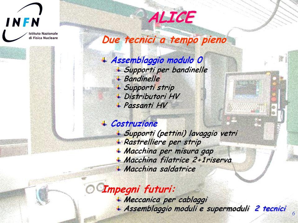 7 Modulo 0 T.O.F. ALICE