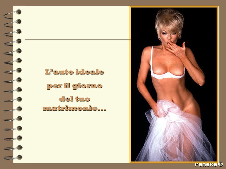 Peneke ® Lauto ideale per il giorno del tuo matrimonio...