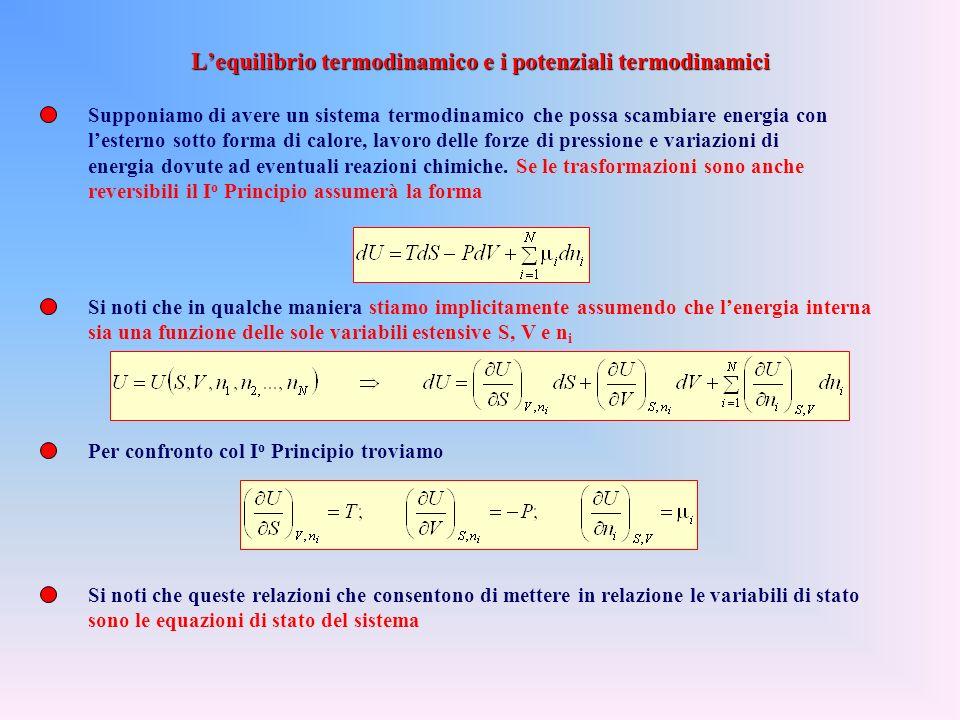 Ma allora, per un ciclo reversibile, la quantità da integrare si comporta come un differenziale esatto e rappresenta le variazioni infinitesime di una